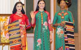 Nhiều kiều bào Mỹ yêu thích và đặt mua áo dài của Hoa hậu Ngọc Hân