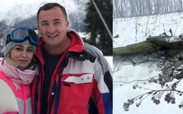 Cặp đôi may mắn thoát chết trong tai nạn máy bay ở Nga
