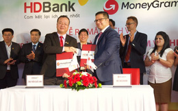HDBank hợp tác với MoneyGram triển khai dịch vụ chi trả kiều hối tại nhà