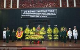 Tổ chức trọng thể lễ tang Trung tướng Đồng Sỹ Nguyên