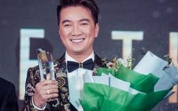Đàm Vĩnh Hưng nhận giải thưởng Quý ông tiên phong của năm