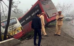 Tai nạn hy hữu: Chủ xe khách bị xe buýt đâm tử vong