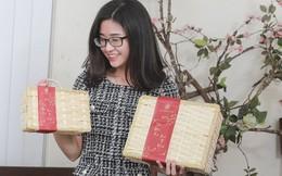 Hộp quà tặng mây tre đan 'gây sốt' thị trường Tết 2019