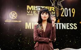 Á hậu Trương Thị May ngồi 'ghế nóng' Chung kết Mister Việt Nam 2019