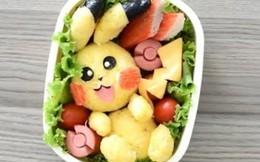 Cơm bento Pokemon siêu đáng yêu cho bé