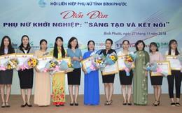 Hội LHPN Bình Phước trao 12 giải cuộc thi 'Ý tưởng khởi nghiệp, khởi sự kinh doanh'