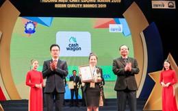 Cashwagon được vinh danh Top 10 'Thương hiệu chất lượng ASEAN 2019'