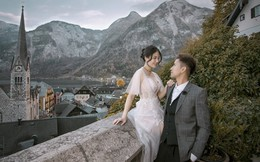 Ảnh cưới qua 3 nước châu Âu đẹp như tranh của vợ chồng trẻ người Việt