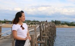 Tận hưởng cảm giác sợ hãi mà đầy thi vị trên cây cầu gỗ dài nhất Việt Nam