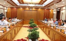 Bộ Chính trị họp về các đề án chuẩn bị trình Hội nghị Trung ương 8
