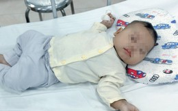 Gia đình dùng thuốc Nam trị tiêu chảy, bé 3 tháng tuổi bị viêm phổi nặng