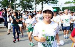 Mỹ Linh chạy bộ gây quỹ cho trẻ em nghèo bệnh tim bẩm sinh