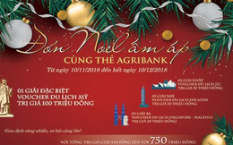 Đến Mỹ, Úc, Đài Loan, Singapore-Malaysia... đón Noel ấm áp cùng thẻ Agribank