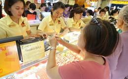 Giá vàng trong nước bật tăng mạnh 450.000 đồng theo đà thế giới