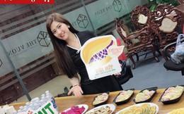 Cô gái khoác 'áo mới' cho những chiếc bánh truyền thống