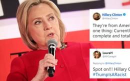 Bà Hillary Clinton chỉ trích bình luận của ông Trump về các nghị sĩ da màu