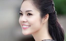 Á hậu Dương Cẩm Lynh tặng áo dài đấu giá làm từ thiện