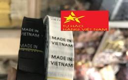 Hàng Việt Nam sẽ không được ghi 'Made in Vietnam'