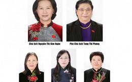 Ủy ban Thường vụ Quốc hội có 5 nữ Ủy viên