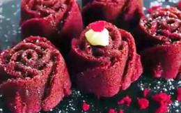 Khéo làm cupcake hoa hồng cho Valentine