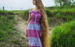 """Mái tóc 1,8 mét của """"Công chúa tóc mây"""""""