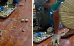 Video phơi bày sự thật kinh hoàng về sản xuất bánh trung thu ở Trung Quốc