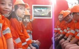 Trang bị cho trẻ kỹ năng thoát hiểm khi hỏa hoạn