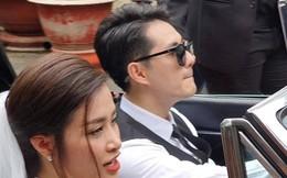Fan cuồng hò reo suốt dọc đường chủ rể Ông Cao Thắng đón cô dâu Đông Nhi