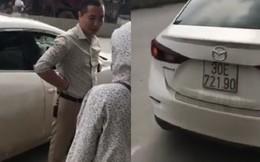 Va chạm giao thông, tài xế vứt luôn chìa khóa xe máy của phụ nữ