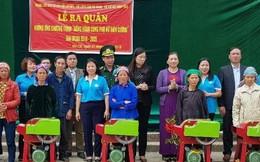 Ra quân 'Đồng hành cùng phụ nữ biên cương' ở Hà Giang