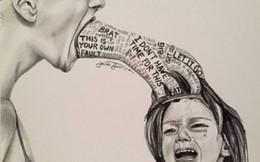 'Dạy con bằng tác động mạnh' khiến dân mạng cảm xúc