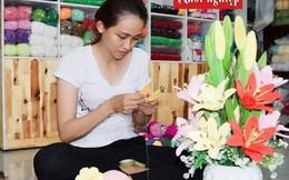 Cô gái Đồng Tháp dành trọn đam mê cho nghề móc len