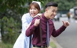 Hari Won gặp áp lực khi lần đầu làm MC cùng ông xã Trấn Thành
