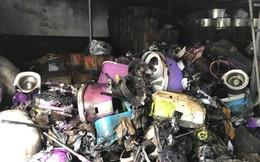 Vụ cháy kho chứa hàng gần chợ Vinh: Tiểu thương khóc hết nước mắt vì trắng tay