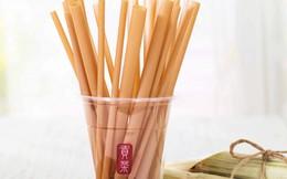 Trà sữa Gong Cha Việt Nam sử dụng ống hút làm từ bã mía