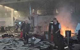 Cảnh tượng kinh hoàng vụ khủng bố ở Bỉ