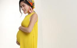 Ca sĩ Ngọc Hiền chụp ảnh bầu đón tuổi 34