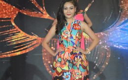 Thí sinh Miss Photo 2017 trong trang phục dạ hội lấy cảm hứng từ sen