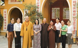 Hội LHPNVN chúc mừng Giáo hội Phật Giáo Việt Nam mùa Phật đản 2018