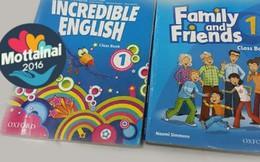 Sách tiếng Anh cho bé yêu