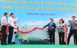 Quỹ sữa Vươn cao Việt Nam tặng hơn 71.000 ly sữa cho trẻ em nghèo tỉnh Quảng Ninh