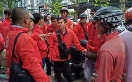 Go-Viet nói gì về chính sách mới khiến hàng loạt tài xế đình công?