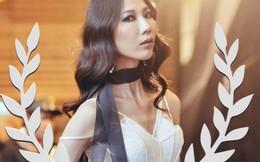 Mẫu siêu gầy Cao Ngân tái xuất ở show diễn của NKT Chung Thanh Phong