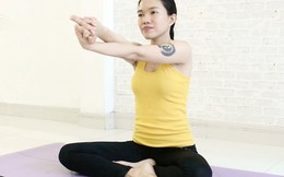 Bài tập yoga giúp săn chắc, giảm mỡ vùng cánh tay