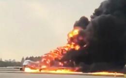 Máy bay Nga bốc cháy, 41 hành khách thiệt mạng