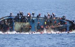 15 phụ nữ và trẻ em mất tích do chìm tàu ngoài khơi Libya