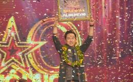 Ca sĩ Triệu Lộc giành giải quán quân Sao nối ngôi mùa thứ 3