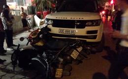 Trộm xe sang Range Rover, gây tai nạn liên hoàn ở Hà Nội