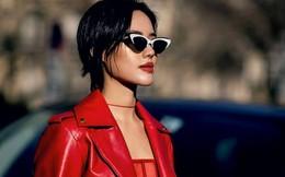 'Chân dài' Khánh Linh 'chiếm sóng' các kênh thời trang tại Paris Fashion Week