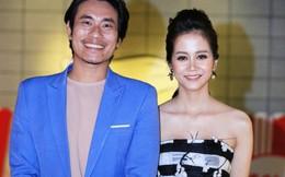 An Nguy tươi tắn xuất hiện bên Kiều Minh Tuấn tại Hà Nội